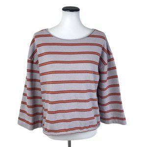 Madewell Striped Boat Neck Tee Shirt #200